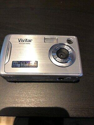 Vivitar MP Digital Camera - Silver
