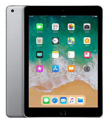 Apple iPad 6th Gen. 32GB, Wi-Fi + Cellular (EE), 9.7in -