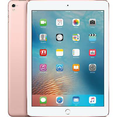 Apple iPad Pro GB Rose Gold (Unlocked) 1 Year Warranty