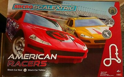 MICRO SCALEXTRIC G American Racers 1/64 Racing Set NEW