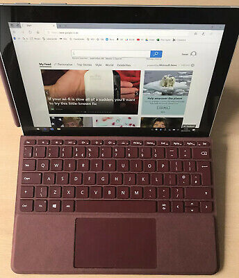 Microsoft Surface Go 64GB, Silver. Comes with Keyboard,