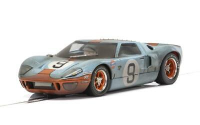 SCALEXTRIC C Ford GT Gulf Car No.9 - WEATHERED