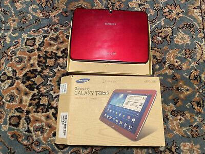 Samsung Galaxy Tab 3 GT-PGB, Wi-Fi, 10.1in - Red