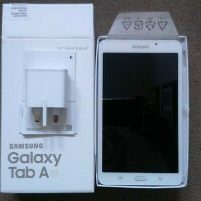 Samsung Galaxy Tab A 8GB/Wi-Fi/7 inch, White OPENED, IN
