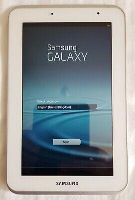 Samsung Galaxy Tab GB Wifi GT-P Tablet, White