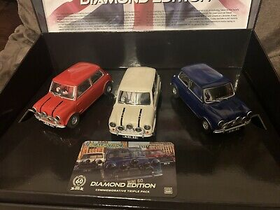 Scalextric Mini Diamond Edition Triple Pack CA Limited