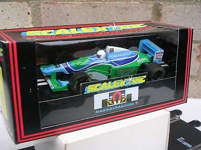 "VINTAGE SCALEXTRIC BENETTON FORD B)F1 ""6"":PRISTINE:N"