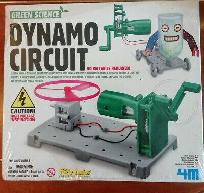 AL642) BNIB Green Science Dynamo Circuit (no batteries reqd)