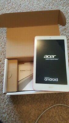 "Acer Iconia One 8 B Tablet 8"" Tablet 16GB Atom ZG"