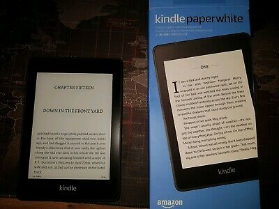 Amazon Kindle Paperwhite 10th Gen 8GB, Wi-Fi Waterproof with