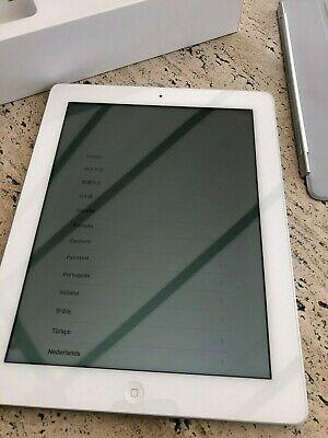 Apple iPad 4th Gen. 16GB, Wi-Fi, 9.7in - White - Great