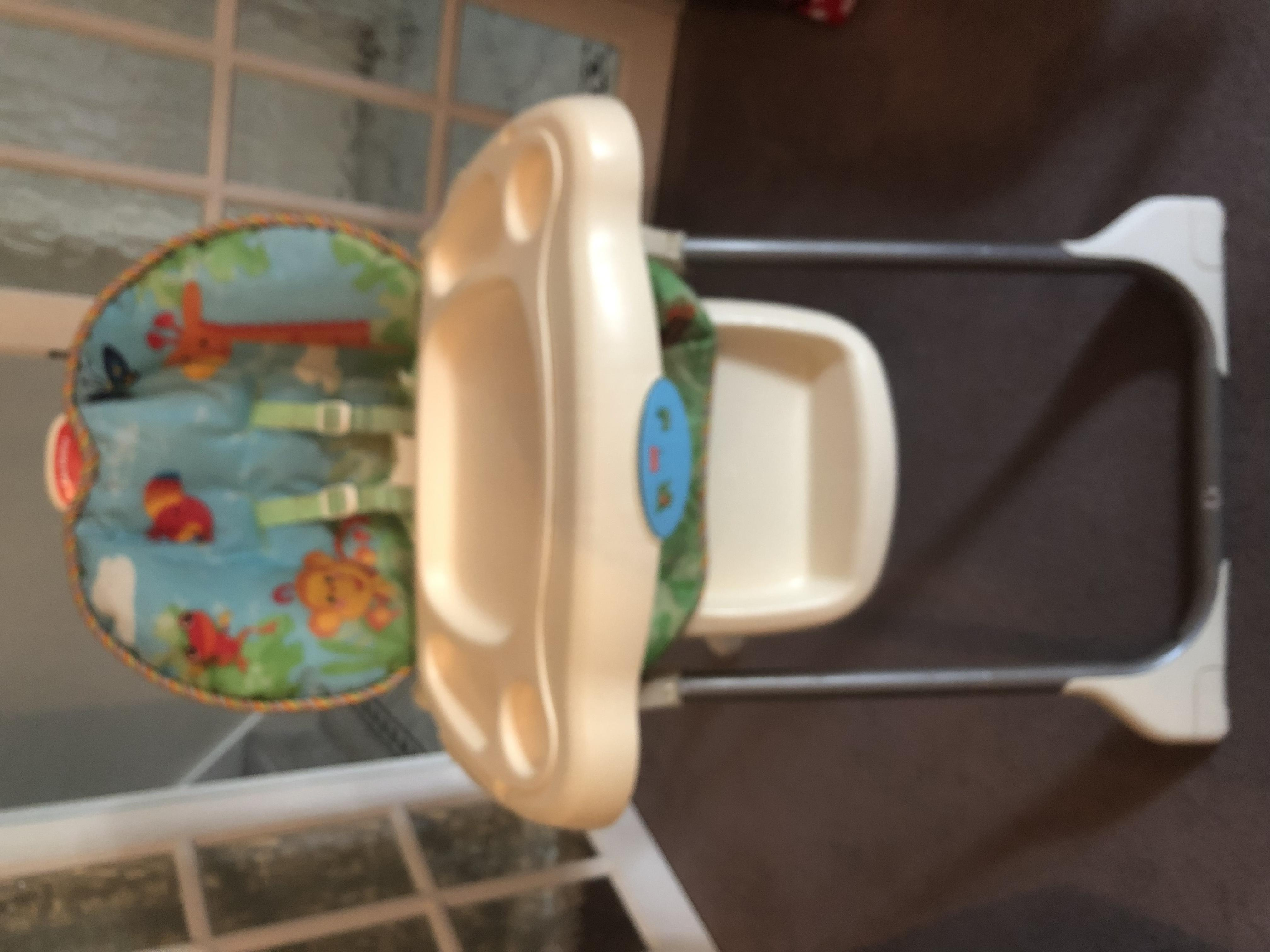 Fisher Price High Chair free to collector