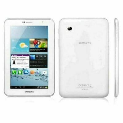 "Good Condition Samsung Galaxy Tab 2 White 7"" Tablet GT-P"