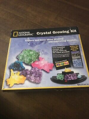 National Geographic CRYSTAL GROWING KIT Science Kit Age 10+