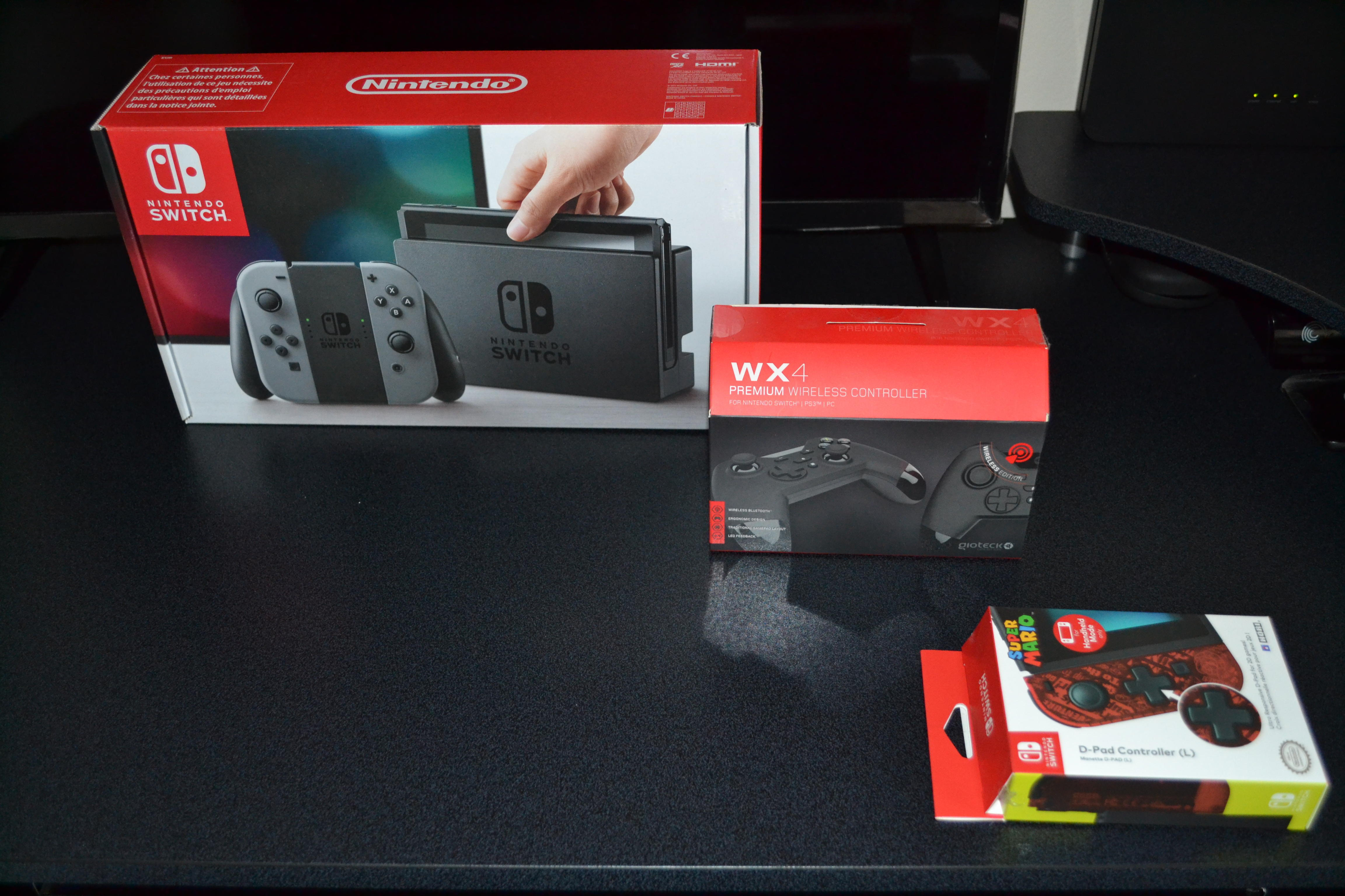 Nintendo Switch, +7Games, Extra Controller, Power Bank,