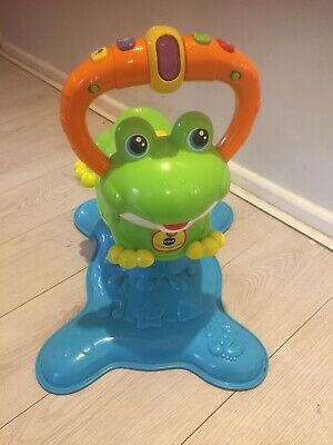 VTECH Bounce and Discover Frog Excellent Used Condition
