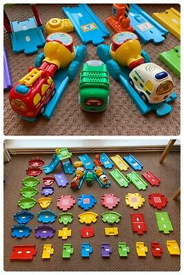 VTech Baby Toot-toot Bundle Playset Interactive Role Play