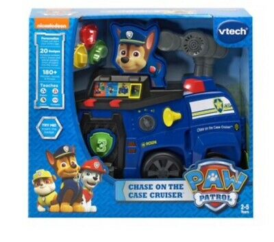 VTech Paw Patrol Chase on the Case Cruiser Learning Toy NEW