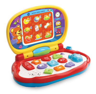 Vtech Baby Laptop Toy Light-up LCD Screen English Speaking
