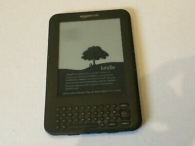 Amazon Kindle 3rd Generation 4GB (E)