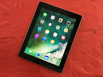 Apple iPad 4 16GB, Wi-Fi (A) - Black - (See description)
