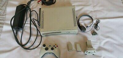 Microsoft Xbox 360 Console - WhiteSpairs or repair.