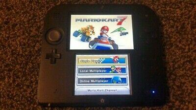 Nintendo 2DS Mario Kart 7 2GB Black/Blue Console (PAL) -