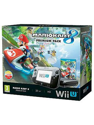 Nintendo Wii U Console Mario Kart 8 Premium Pack UK Sealed -