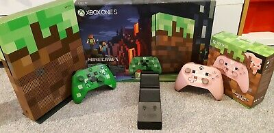 Xbox One S Minecraft Limited Edition Bundle 1TB 2