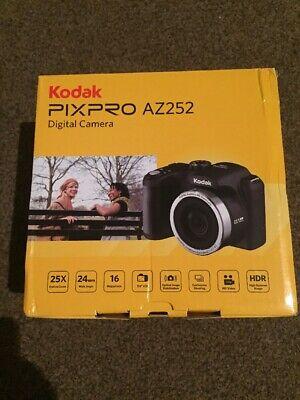 BRAND NEW IXED KODAK PIXPRO AZ252 BLACK DIGITAL CAMERA 16mp