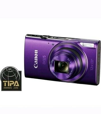 CANON IXUS 285 HS Compact Camera - Purple - Currys