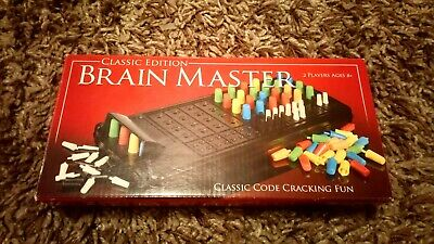 CLASSIC EDITION BRAIN MASTER CODE BREAKING FUN PAUL LAMOND