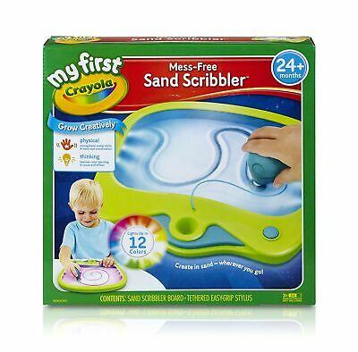 CRAYOLA My First Mess-Free Sand Scribbler, Art Activity, No