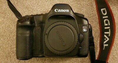 Canon EOS 5D (Mark I) 12.8MP Digital SLR Camera - Black -