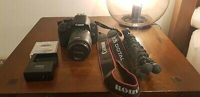 Canon EOS 700D 18MP Digital SLR Camera - Black (Kit w/ EF-S