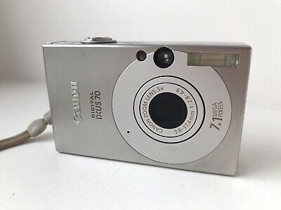 Canon IXUS MP Digital Camera - Silver With Case And