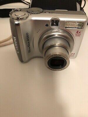 Canon PowerShot AMP Digital Camera - Silver V.good