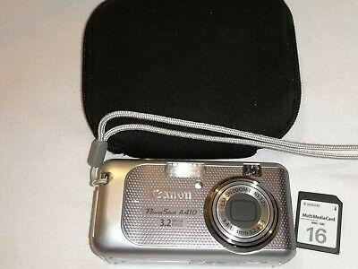 Canon PowerShot AMP Digital Compact Camera - Silver