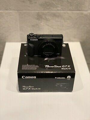 Canon PowerShot G7X Mark III Compact Camera ( G7x Mark
