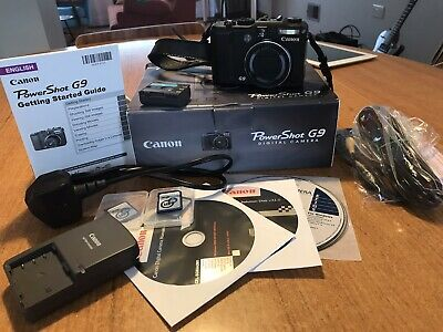 Canon PowerShot G9 Digital Camera, Boxed, Great Condition,