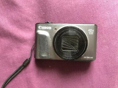 Canon PowerShot SX720 HS 20MP 40x Optical Zoom Digital