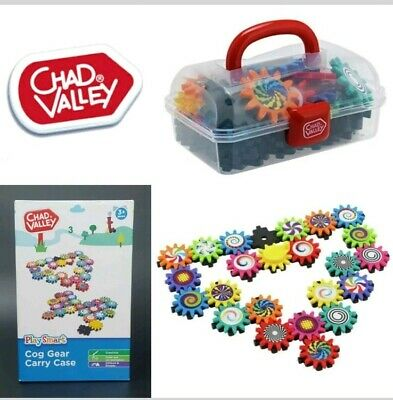 Chad Valley Play Smart Cog Gear Play Set & Carry Case