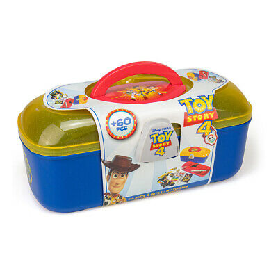 DISNEY Toy Story 4 My Toolbox with 60pcs Creative Stationery