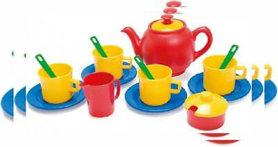 Dantoy Tea Set in Net, Role Play Party with 17 Pieces