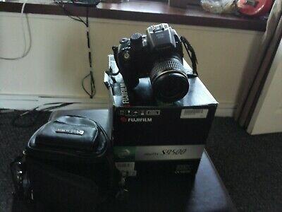 Fujifilm FinePix S Series SMP Digital Camera - Black