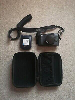 Fujifilm FinePix X Series XMP Camera - Black- with