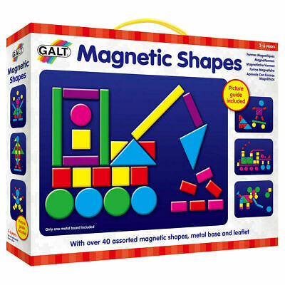 Galt Toys Kids Play and Learn Magnetic Shapes - FREE & FAST