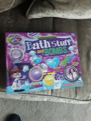 Groovy Labz Make Your Own Bath Stuff And Bombs Age 8+ New