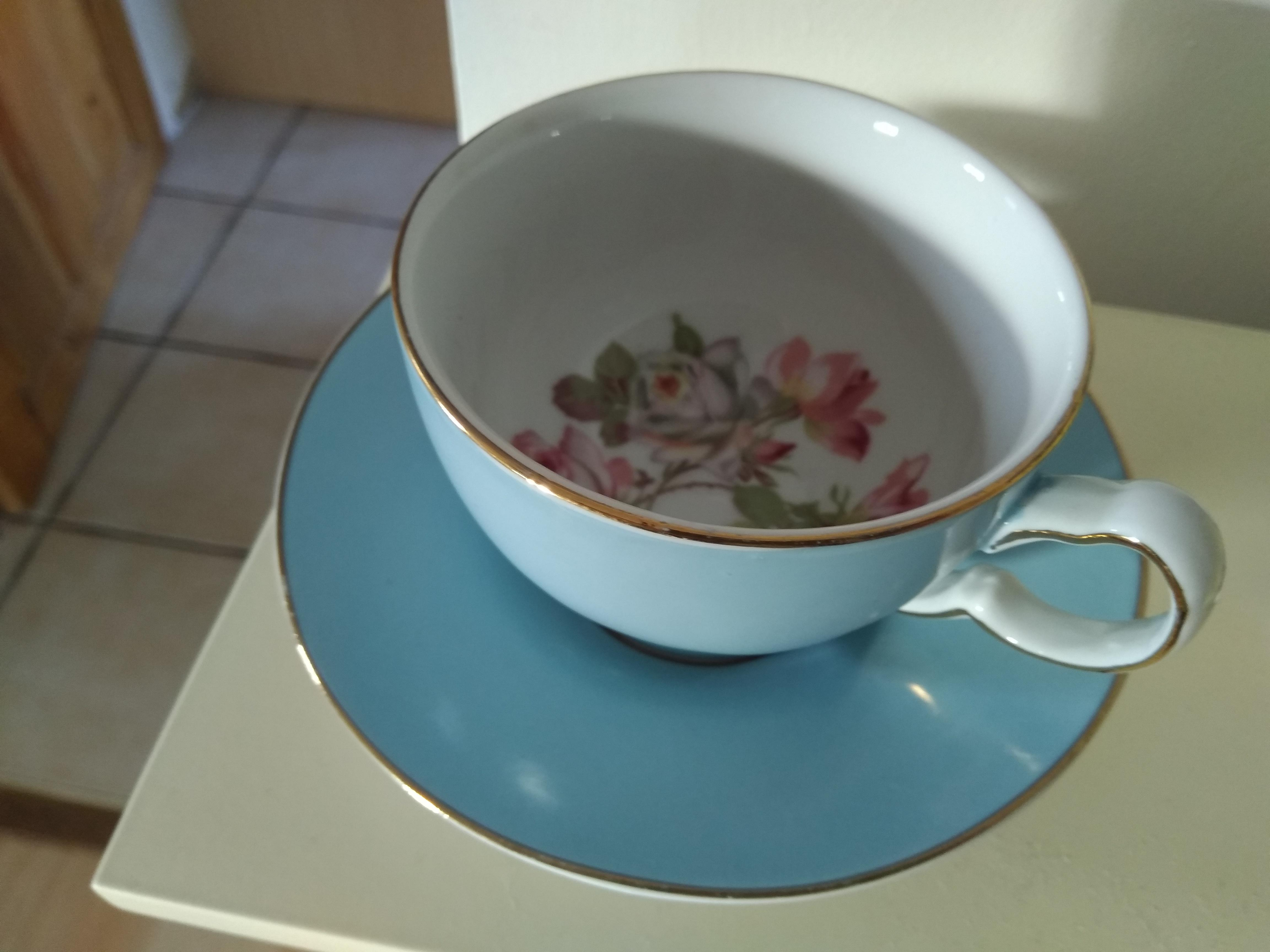 LG Cup and Saucer