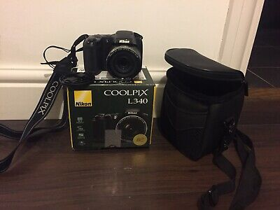 Nikon COOLPIX LMP Digital Camera - Black - Perfect